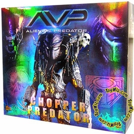 Sideshow Collectibles Alien Vs. Predator 14 Inch Model Figure Chopper Predator