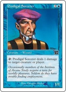 Magic the Gathering Starter 2000 Single Card Common Prodigal Sorcerer