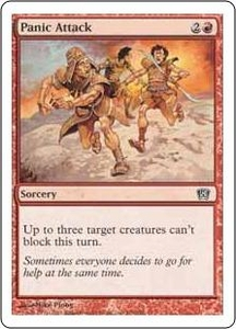 Magic the Gathering Eighth Edition Single Card Common #209 Panic Attack