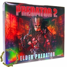 Predator 2 Hot Toys Deluxe 14 Inch Model Figure Elder Predator