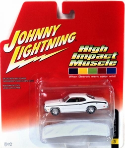 Johnny Lightning 1:64 Scale Diecast Car High Impact Muscle #3 1971 Plymouth Duster 340 BLOWOUT SALE!