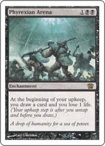Magic the Gathering Eighth Edition Single Card Rare #152 Phyrexian Arena