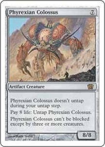 Magic the Gathering Eighth Edition Single Card Rare #309 Phyrexian Colossus