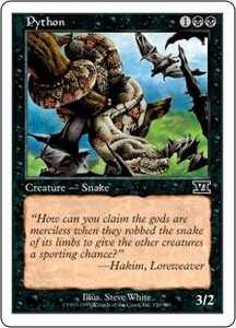 Magic the Gathering Starter 2000 Single Card Common Python