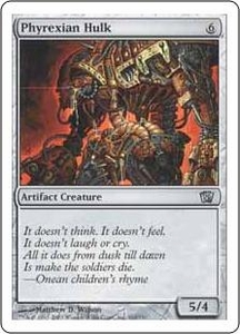 Magic the Gathering Eighth Edition Single Card Uncommon #310 Phyrexian Hulk