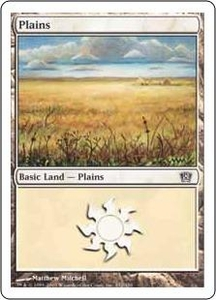 Magic the Gathering Eighth Edition Single Card Land #331 Plains [Random Artwork]