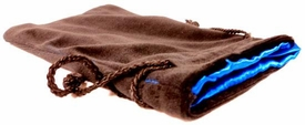 Dice Gaming Supplies Black and Blue Dice Bag