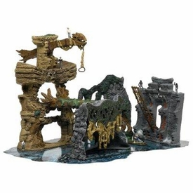 King Kong The 8th Wonder of the World Deluxe Skull Island Playset