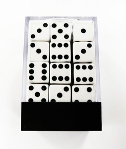 Dice Gaming Supplies 36 Count 12mm 6-Sided d6 Dice Pack The Brick
