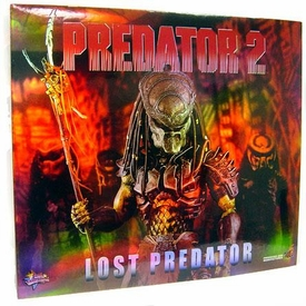 Predator 2 Hot Toys Movie Masterpiece 1/6 Scale Collectible Figure Lost Predator
