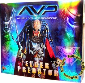 Alien Vs. Predator Hot Toys AVP 14 Inch Model Figure Elder Predator