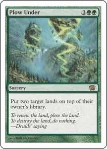 Magic the Gathering Eighth Edition Single Card Rare #272 Plow Under