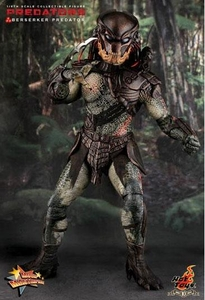 Predators Hot Toys Movie Masterpiece 1/6 Scale Collectible Figure Berserker Predator