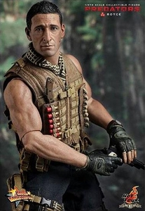 Predators Hot Toys Movie Masterpiece 1/6 Scale Collectible Figure Royce
