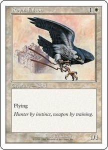Magic the Gathering Starter 2000 Single Card Common Royal Falcon