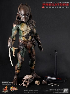 Predators Hot Toys Movie Masterpiece 1/6 Scale Collectible Figure Falconer Predator