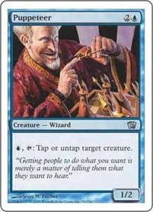 Magic the Gathering Eighth Edition Single Card Uncommon #94 Puppeteer