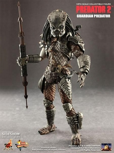 Predator 2 Hot Toys Movie Masterpiece 2010 SDCC Exclusive 1/6 Scale Collectible Figure Guardian Predator