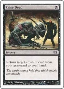 Magic the Gathering Eighth Edition Single Card Common #157 Raise Dead