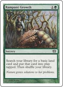 Magic the Gathering Eighth Edition Single Card Common #274 Rampant Growth