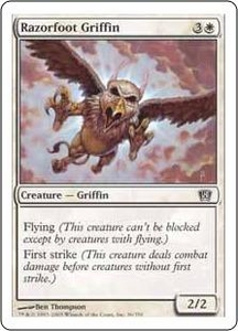 Magic the Gathering Eighth Edition Single Card Common #36 Razorfoot Griffin