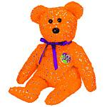 Ty Beanie Baby Orange Decade the Bear