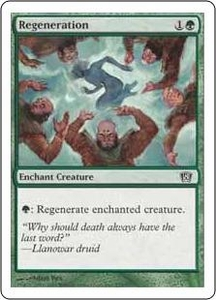 Magic the Gathering Eighth Edition Single Card Common #275 Regeneration
