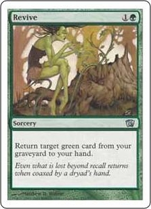 Magic the Gathering Eighth Edition Single Card Uncommon #276 Revive