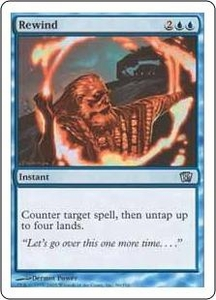 Magic the Gathering Eighth Edition Single Card Uncommon #96 Rewind