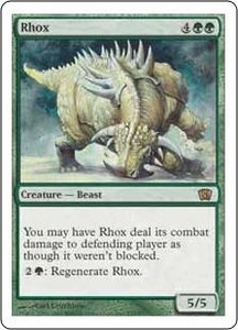 Magic the Gathering Eighth Edition Single Card Rare #277 Rhox