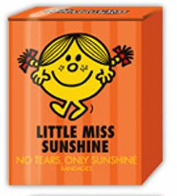 Little Miss Sunshine No Tears, Only Sunshine Bandages