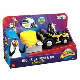 World of Madagascar Movie Exclusive Vehicle Rico's Launch & Go Roadster