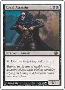 Magic the Gathering Eighth Edition Single Card Rare #159 Royal Assassin