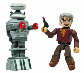 Lost In Space Minimate 2-Pack Dr. Smith & B9 Pre-Order ships April