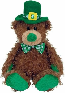 Ty Beanie Baby Store Exclusive Patty O'Lucky the St. Patricks Day Bear
