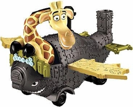 World of Madagascar Movie Exclusive Melman In Plane