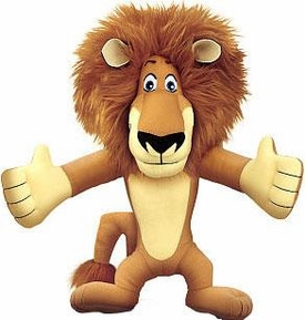 World of Madagascar Movie Exclusive 10 Inch Talking Plush Alex