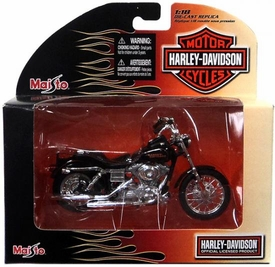 Maisto 1:18 Die-Cast Replica Harley-Davidson Motor Cycle 2002 FXDL Dyna Low Rider