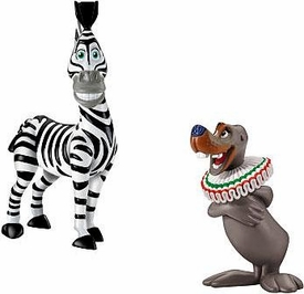 World of Madagascar Movie Exclusive Mini Figure 2-Pack Marty & Stephano