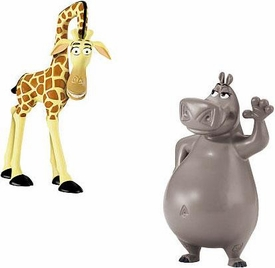 World of Madagascar Movie Exclusive Mini Figure 2-Pack Melman & Gloria
