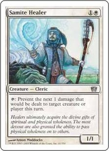 Magic the Gathering Eighth Edition Single Card Common #41 Samite Healer