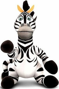World of Madagascar Movie Exclusive 10 Inch Talking Plush Marty