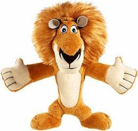 World of Madagascar Movie 8 Inch Plush Zooster Pal Alex
