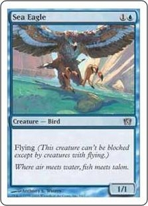 Magic the Gathering Eighth Edition Single Card Common #4 Sea Eagle