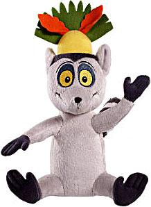 World of Madagascar Movie 8 Inch Plush Zooster Pal King Julien