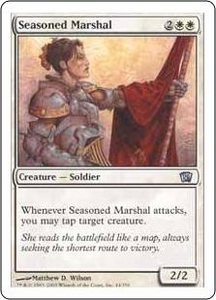 Magic the Gathering Eighth Edition Single Card Uncommon #44 Seasoned Marshal