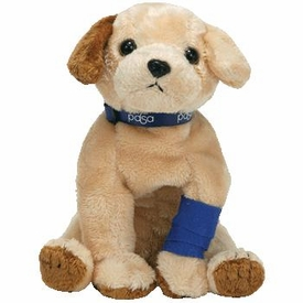 Ty Beanie Baby PDSA European Exclusive Pads the Dog