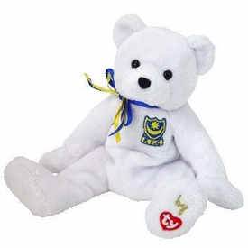 Ty Beanie Baby P.F.C the UK Soccer Bear