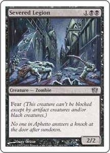 Magic the Gathering Eighth Edition Single Card Common #163 Severed Legion