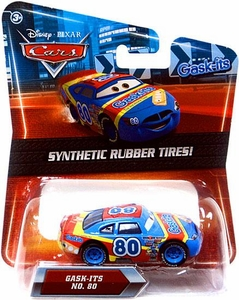 Disney / Pixar CARS Movie Exclusive 1:55 Die Cast Car with Synthetic Rubber Tires Gask-Its
